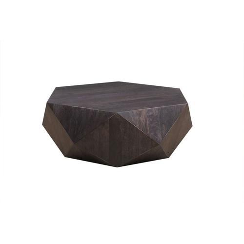Prism Noir Hexagonal Coffee Table, HC2758M02-B
