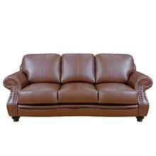 Cavalier Sofa in Chestnut