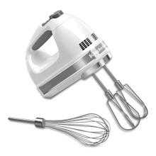 7-Speed Hand Mixer - White