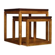 Trilogy Nesting Tables/Oval Cocktail Table/Octagonal Accent Table-4 pc. Group-Floor Samples-**DISCONTINUED**