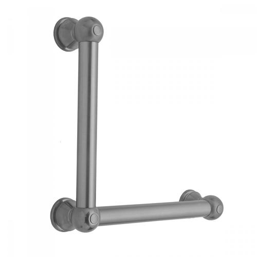 Polished Gold - G30 12H x 24W 90° Right Hand Grab Bar
