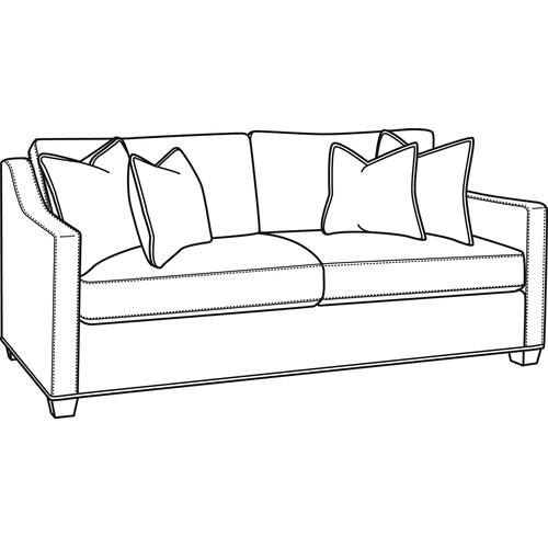 Braxton Culler Inc - Oliver 2 over 2 Sofa