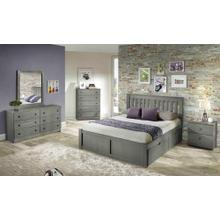 York Platform Bed With Under Bed Chests