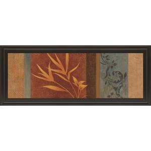 """""""Leaf Silhouette I"""" By Jordan Grey Framed Print Wall Art"""