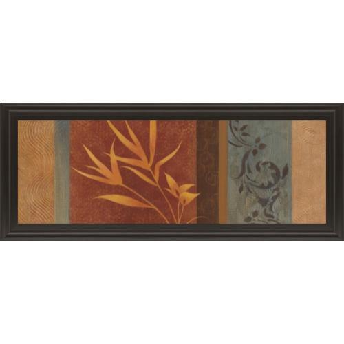 """Classy Art - """"Leaf Silhouette I"""" By Jordan Grey Framed Print Wall Art"""