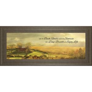 """Gallery - """"Enjoy Life"""" By Lori Deiter Framed Print Wall Art"""