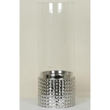 Crestview Collections - Silver Plated Hurricane