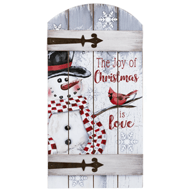 The Joy of Christmas is Love Layered Plaque