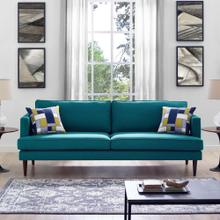See Details - Agile Upholstered Fabric Sofa in Teal