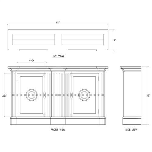Lambeth Narrow Sideboard