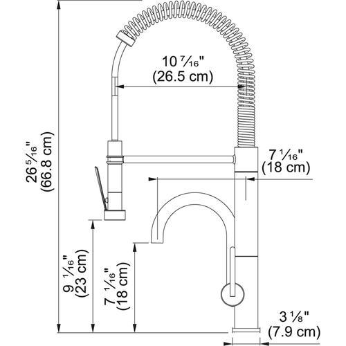 Franke - Professional FFPD5380 Satin Nickel