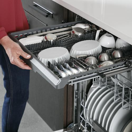 GE Profile™ Stainless Steel Interior Dishwasher with Hidden Controls Stainless Steel - PDT715SYNFS
