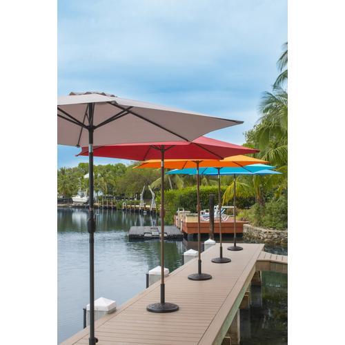 Pelican Reef - Panama Jack Grey 9 Ft Alum Patio Umbrella W/Crank