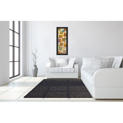 """Square Abstract"" Framed Print Wall Art"