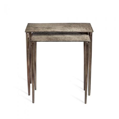 Aria Nesting Tables - Nickel