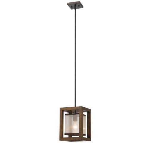 Cal Lighting & Accessories - 60W Single Mini Pendant
