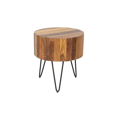 Tulsa Natural End Table, SBA-1090
