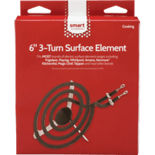 Smart Choice 6'' 3-Turn Surface Element, Fits Most