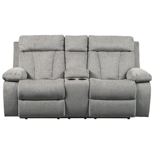 Mitchiner Reclining Loveseat With Console