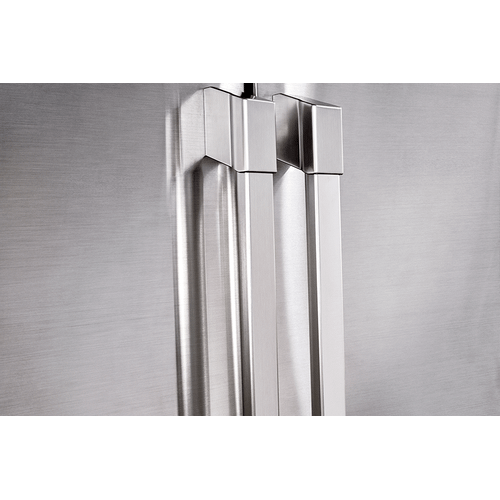 """Dacor - Heritage 42"""" Built-In Side-by-SideRefrigerator, in Stainless Steel with Pro Style Handle"""