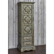 See Details - Medallion Single Door Cabinet - Ant Blue