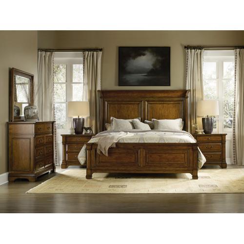 Tynecastle California King Panel Bed