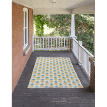 Pineapple Indoor/Outdoor 5' x 8' Rug