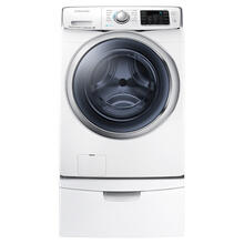 See Details - WF6300 4.5 cu. ft. Front Load Washer with SuperSpeed (White)