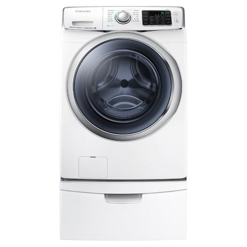 Used 90 Day Warranty - WF6300 4.5 cu. ft. Front Load Washer with SuperSpeed on Pedestal
