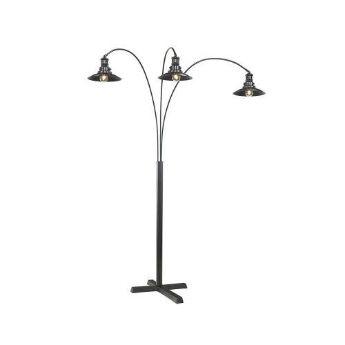 Metal Arc Floor Lamp