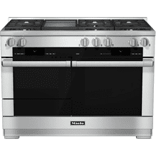 HR 1956-2 LP - 48 inch range Dual Fuel with M Touch controls, Moisture Plus and M Pro dual stacked burners