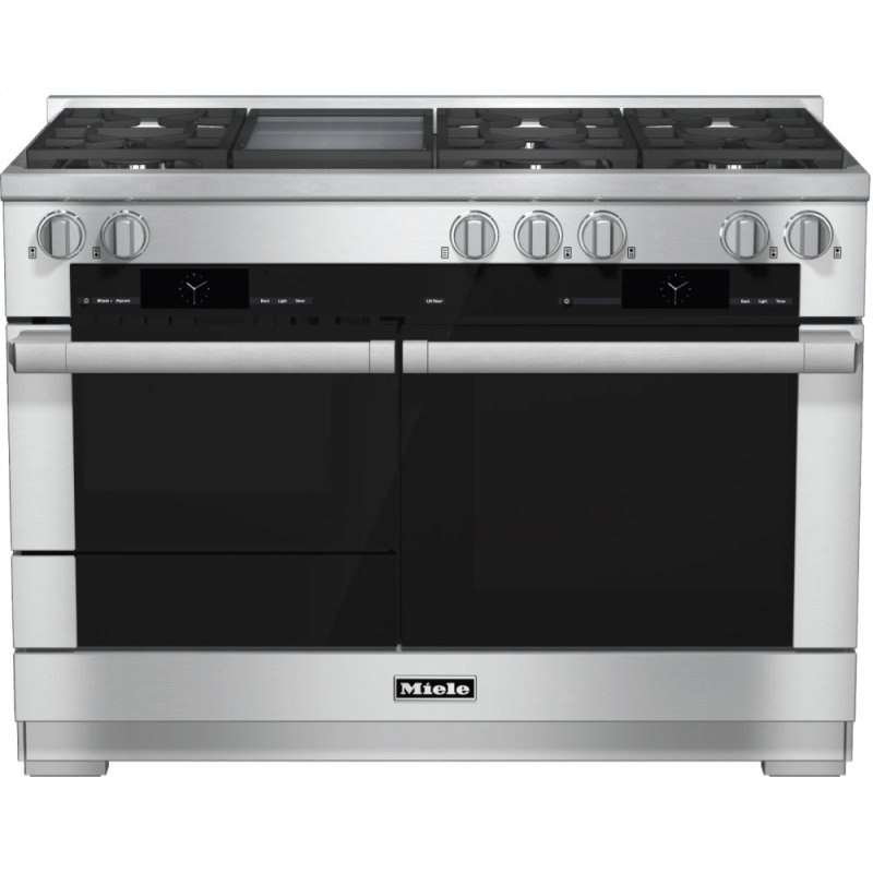 HR 1956-2 G - 48 inch range Dual Fuel with M Touch controls, Moisture Plus and M Pro dual stacked burners