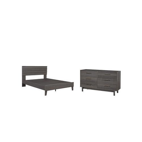 Queen Platform Bed With Dresser