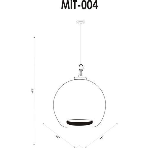 """Mist MIT-004 10""""H x 11""""W x 11""""D"""