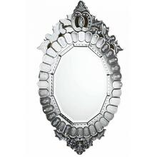 Venetian 22.25 in. Transitional Mirror in Clear