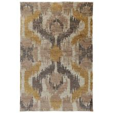 See Details - Ithaca Ikat Gold 5x8