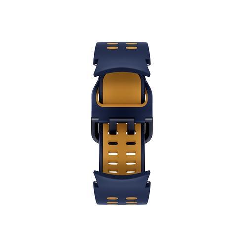 Samsung - Galaxy Watch4, Galaxy Watch4 Classic Extreme Sport Band, M/L, Blue/Mustard