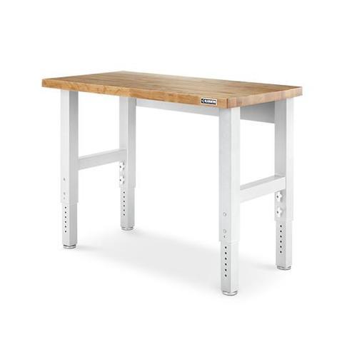 4' Adjustable Height Hardwood Workbench