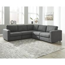 Candela 5 Pc. Sectional Charcoal