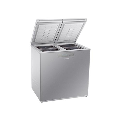 7.6 cu. ft. Kimchi & Specialty 2-Door Chest Refrigerator in Silver