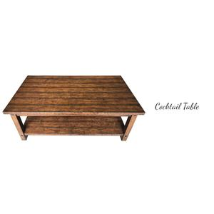 Cocktail Table & 2 End Tables