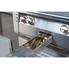 """See Details - 56"""" Sear Zone Grill with Side Burner Cart"""