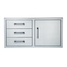 See Details - 42-INCH SINGLE DOOR TRIPLE DRAWER