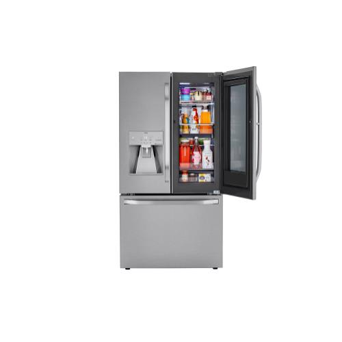 LG STUDIO 24 cu. ft. Smart wi-fi Enabled InstaView™ Door-in-Door® Counter-Depth Refrigerator with Craft Ice™ Maker