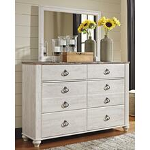 Willowton Dresser and Mirror