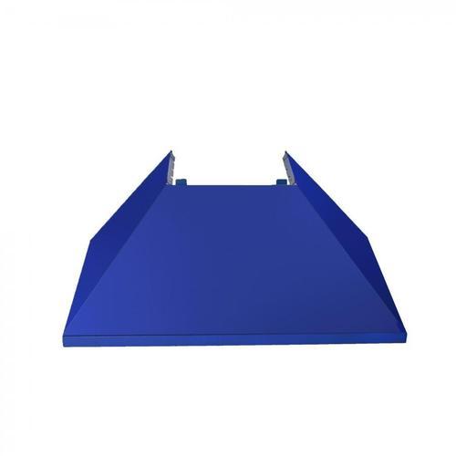 "Zline Kitchen and Bath - ZLINE 30"" Colored Range Hood Shell (8654-SH-30) - Shell Only [Color: Blue Matte]"