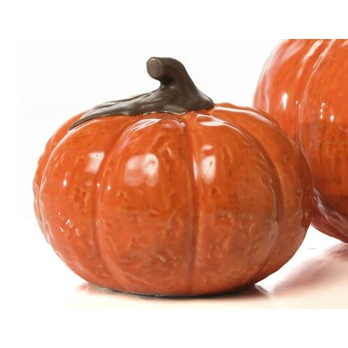 Small Round Posh Pumpkin