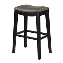 "Briar 30"" Upholstered Bar Stool, Elephant Gray D107-30-13"