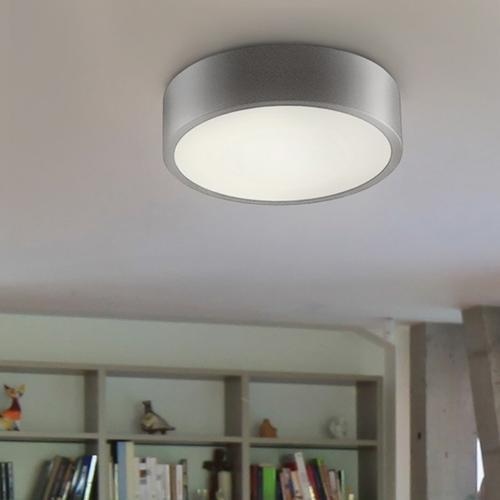 "Sonneman - A Way of Light - Pi LED Surface Mount [Size=16"", Color/Finish=Bright Satin Aluminum]"