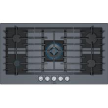 See Details - Benchmark® Gas Cooktop 36'' Tempered glass, dark silver NGMP677UC